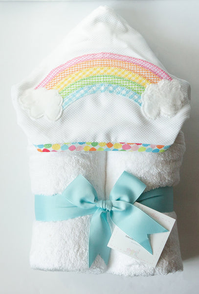 3 Marthas Rainbow Hooded Towel