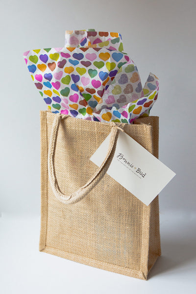 Little Girls Rainbow Gift Tote