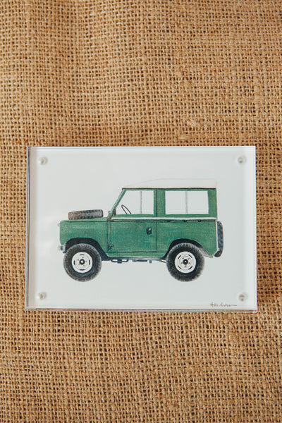 Holly Graham Fine Art Vintage Vehicle Framed Prints