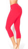 PLAIN JANE SPORTS YOGA CAPRI PANTS