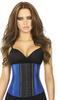 Ann Chery 2046 3 Row Metallic Waist Trainer - Long Torso