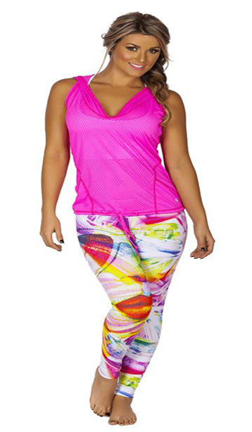 EYES WATCHING SPORTS YOGA LEGGINGS