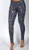 DISCO NIGHTS SPORTS YOGA LEGGINS