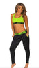 ELECTRIC HAZARD THOTULUS SPORTS BRA