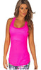MESH TANK TANK TOP RACER BACK