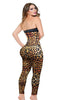 ANN MICHELL LEOPARD PRINT LEGGINGS