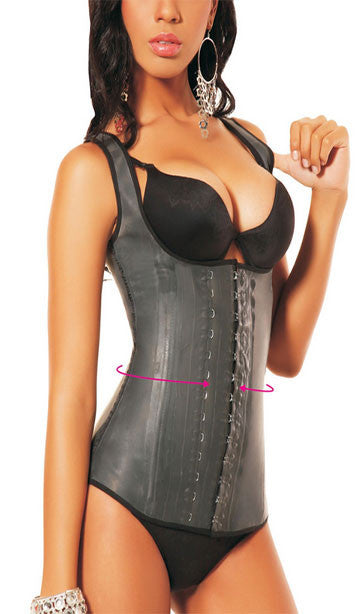 Ann Michell Latex Vest Trainer - 2027D 3 Hook