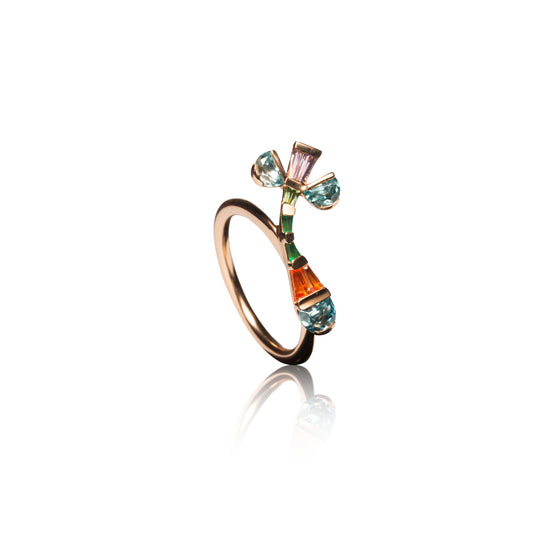 Bent Crocus Ring
