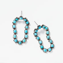 Loop Earrings - Turquoise