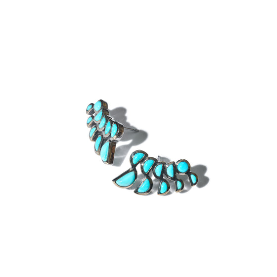 Lobster Earrings - Turquoise