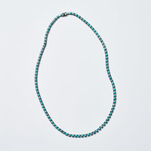Small Tile Opera Necklace - Turquoise