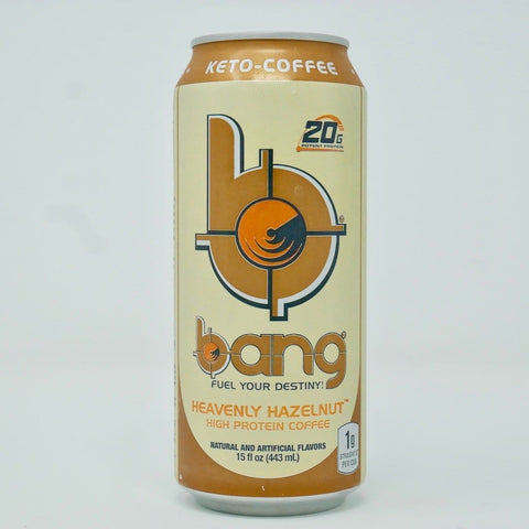 Bang Heavenly Hazelnut High Protein Coffee