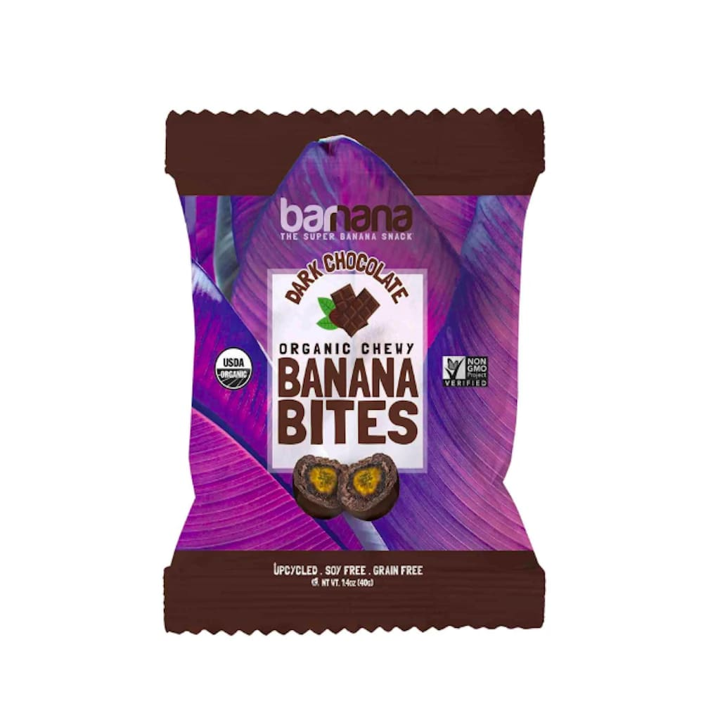Barnana Dark Chocolate Chewy Banana Bites