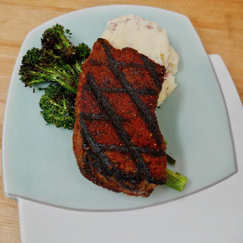 Blackened Sirloin Steak