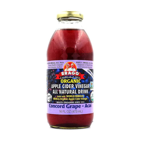 Braggs Apple Cider Vinegar Concord Grape