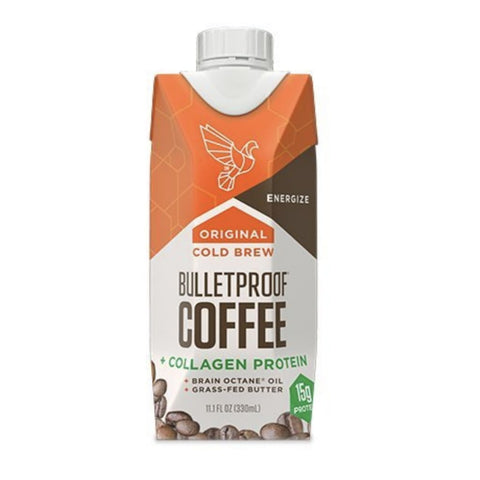 Bulletproof Coffee With Collagen Protein