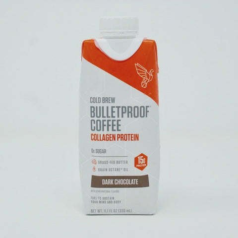 Bulletproof Dark Chocolate Collagen Protein Cold Brew