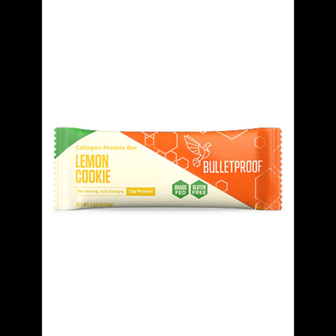 Bulletproof Lemon Cookie Collagen Protein Bar