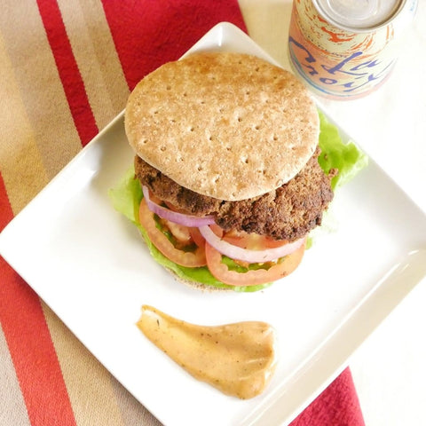 Cajun Turkey Burger