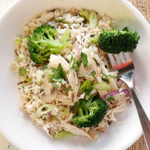 Chicken With Wild Rice & Broccoli