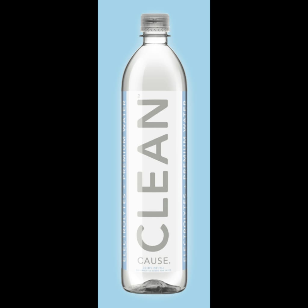 Clean Cause Electroyte Water