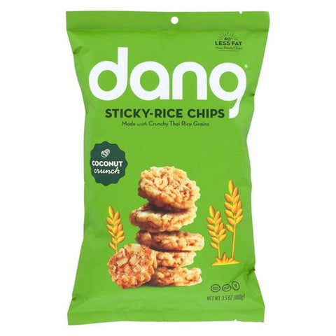 Dang Coconut Crunch Sticky-Rice Chips