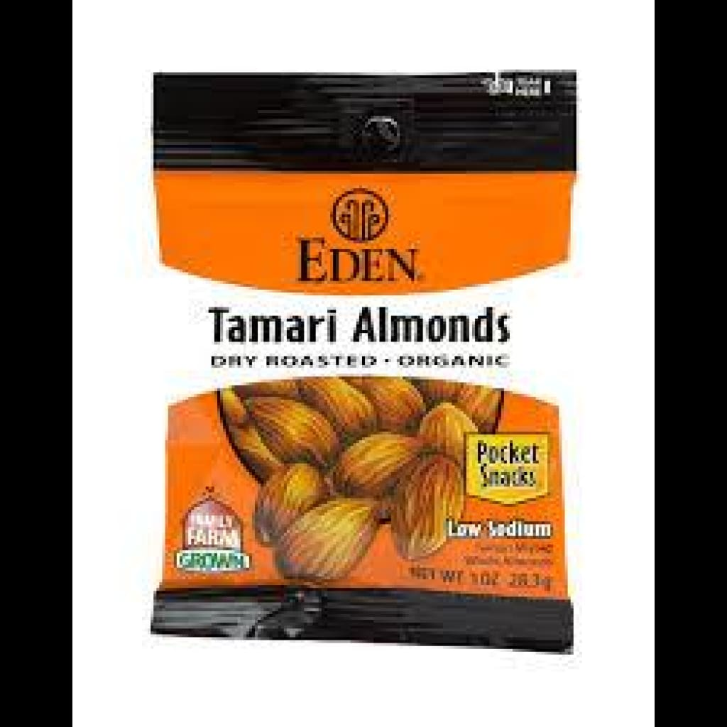 Eden Tamari Almonds Pocket Snacks