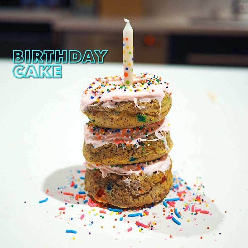 Elite Sweets Birthday Cake Protein Donut
