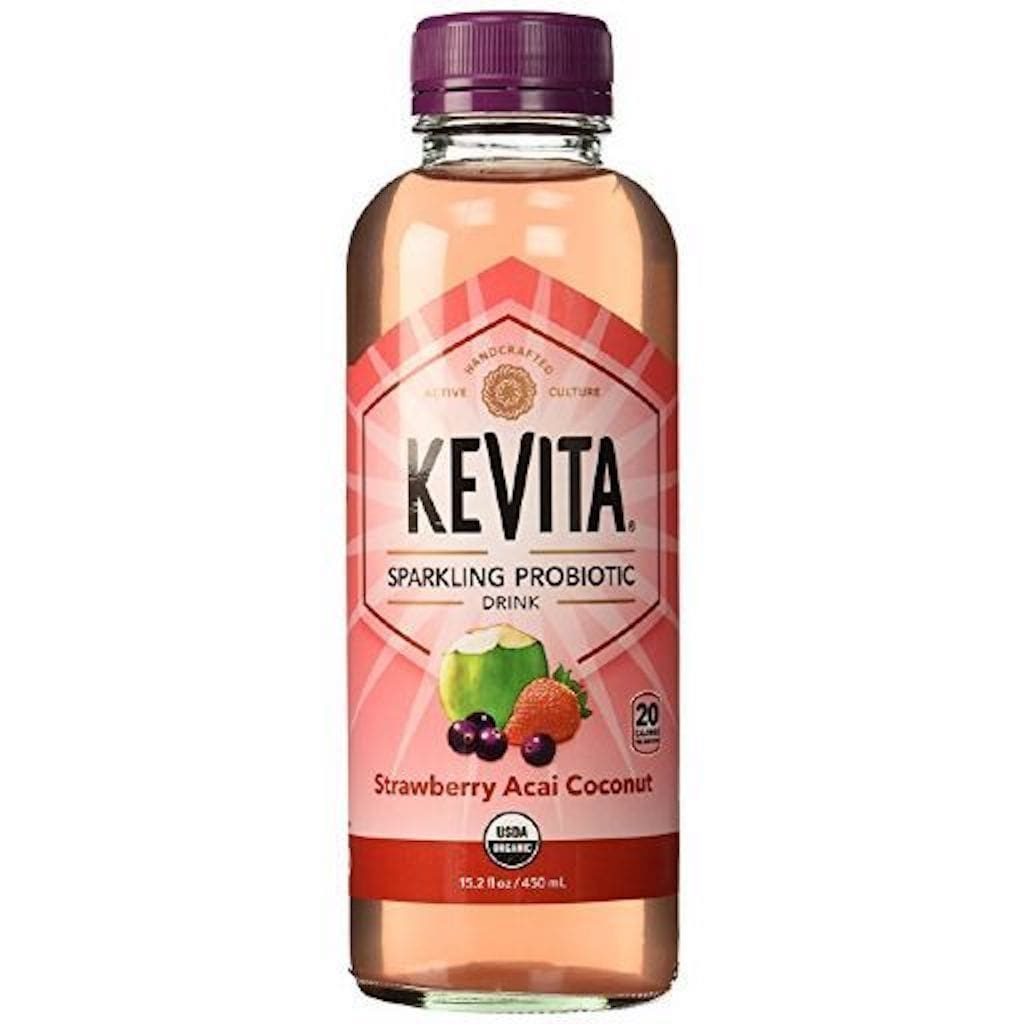 Kevita Sparking Probiotic Strawberry Acai Coconut
