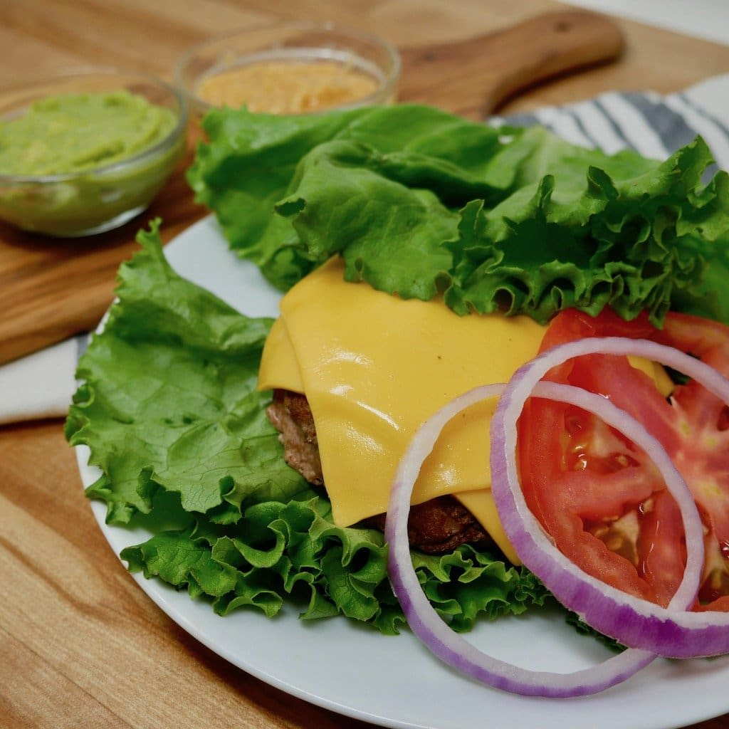 Low Carb Turkey Burger