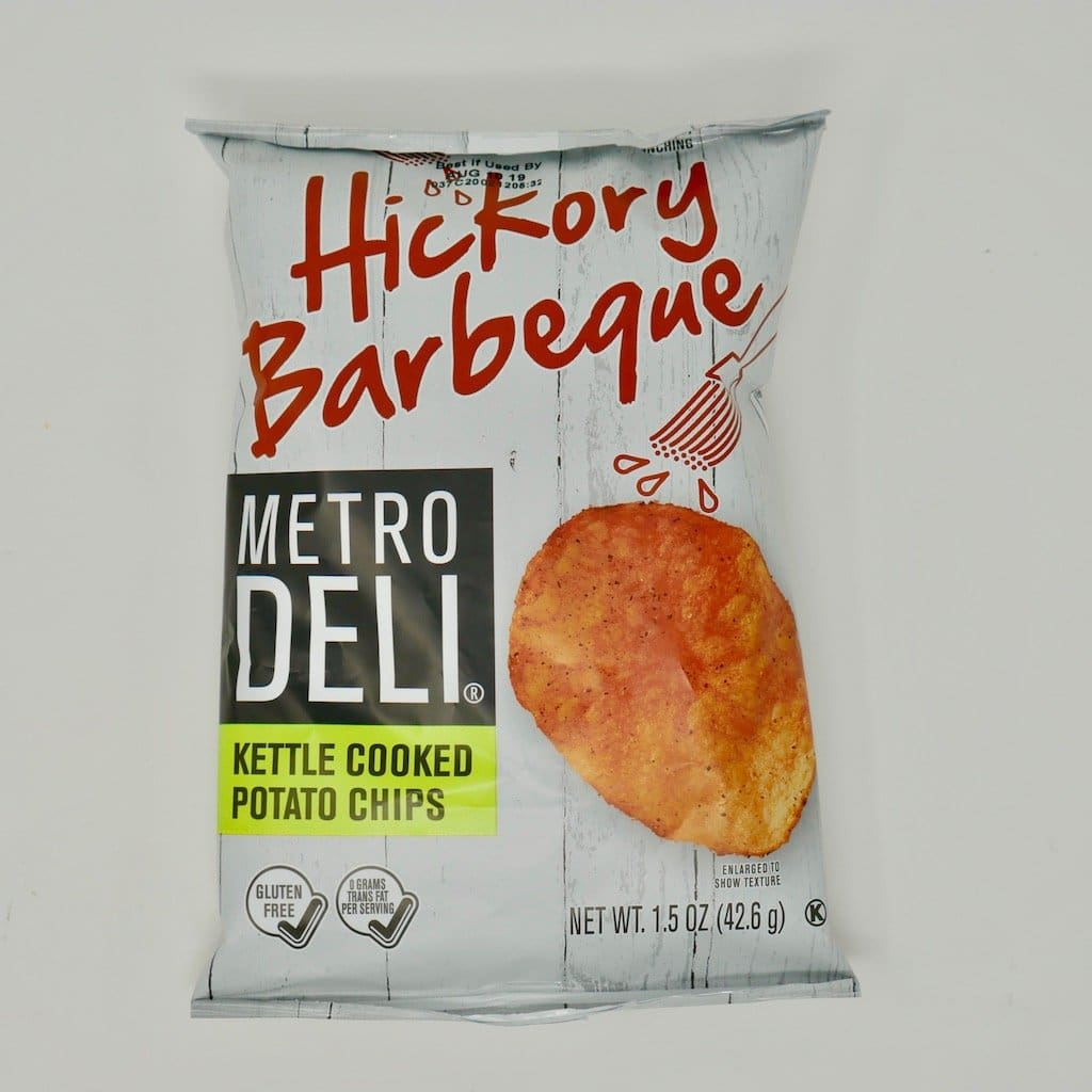 Metro Deli Hickory Barbeque Kettle Cooked Potato Chips