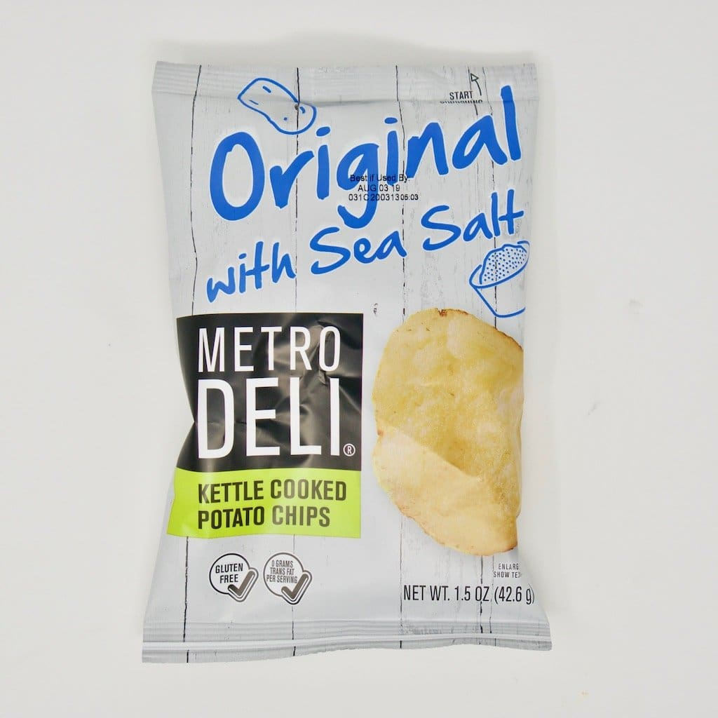 Metro Deli Original with Sea Salt Kettle Cooked Potato Chips