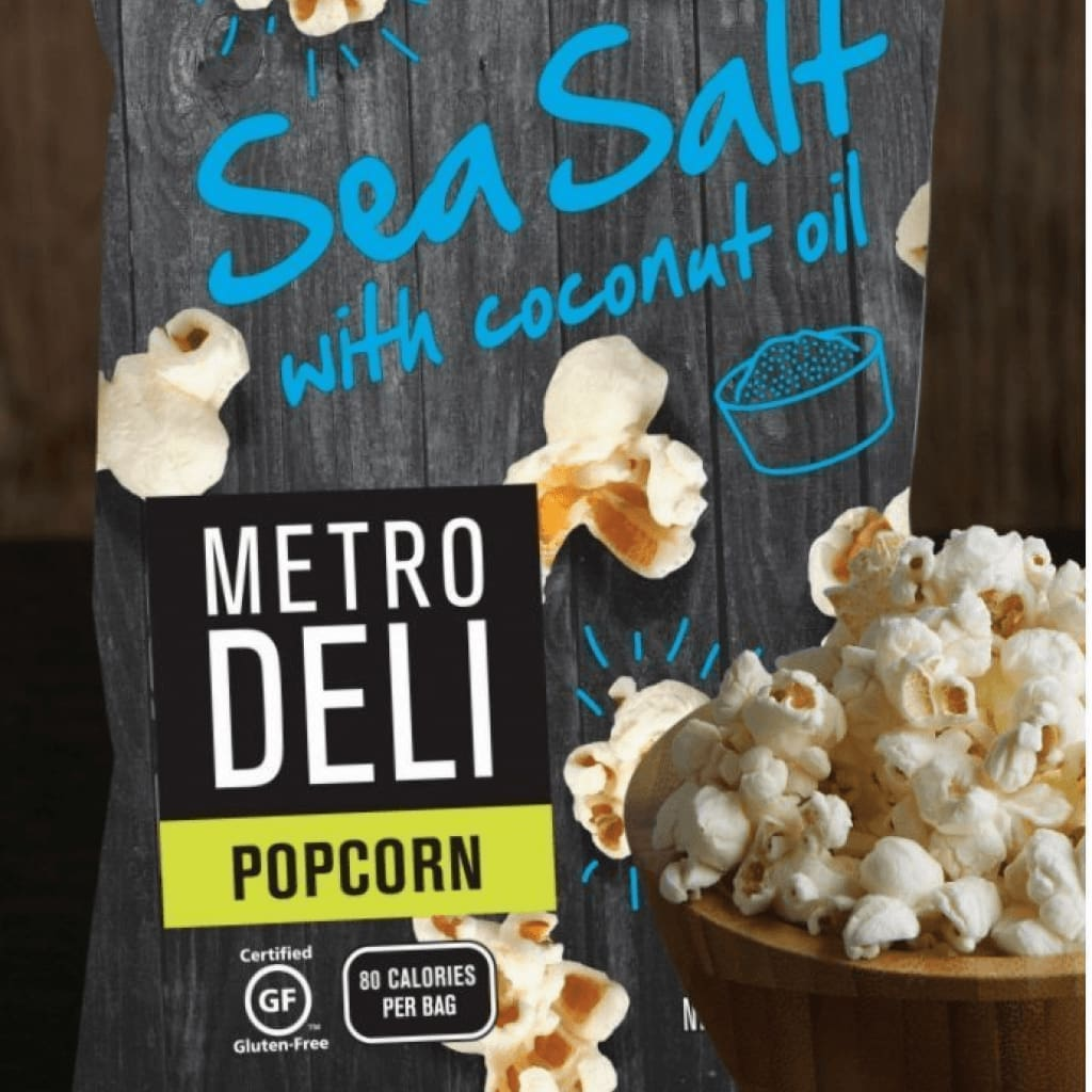 Metro Deli Popcorn Sea Salt With Coconut Oil