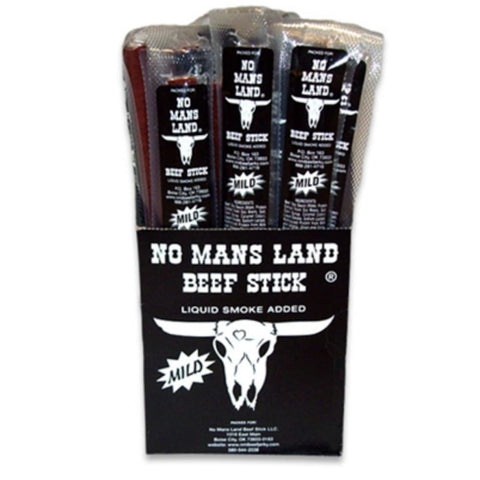 No Mans Land Beef Stick  Mild