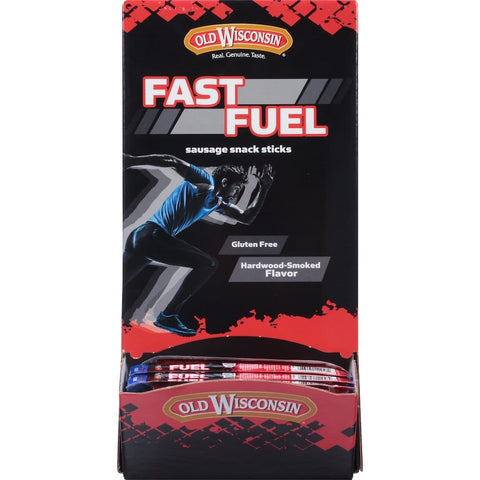 Old Wisconsin Fast Fuel High Protein Beef Sticks