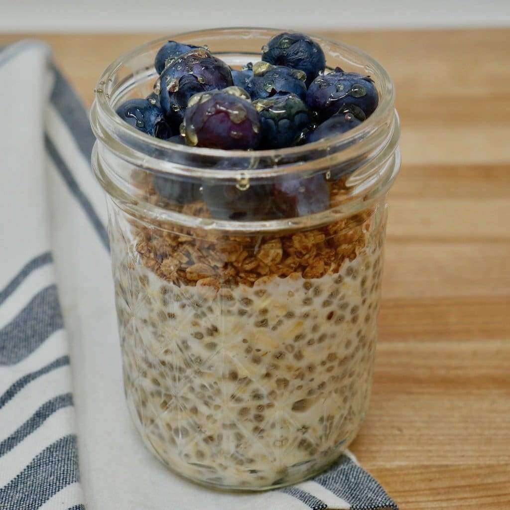Honey Overnight Oats