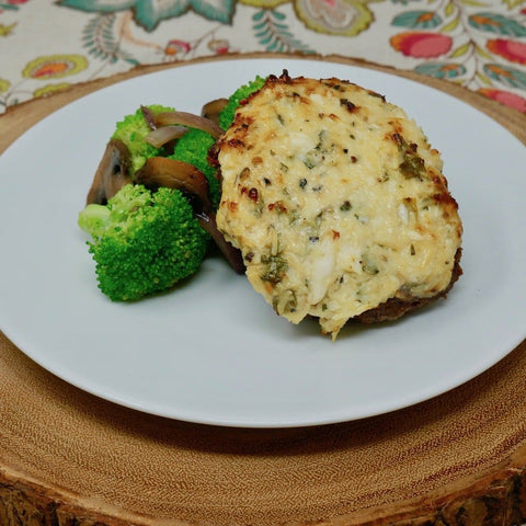 Parmesan Crusted Chopped Steak