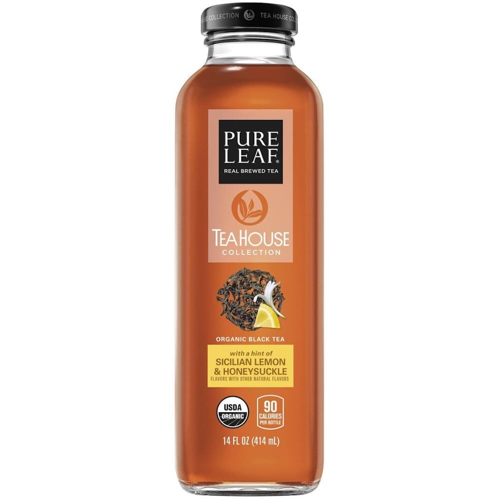 Pure Leaf Sicilian Lemon & Honeysuckle Black Tea