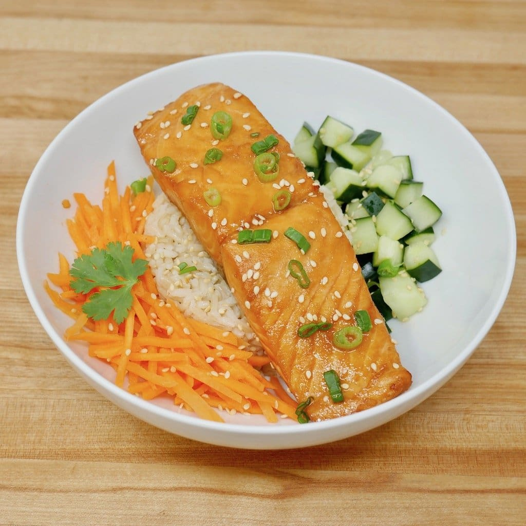 Soy Ginger Salmon Bowl