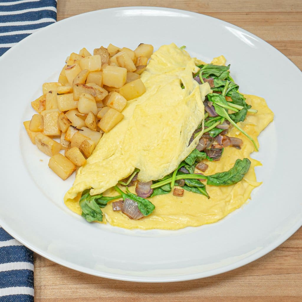 Spinach Florentine Omelette