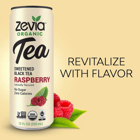 Zevia Sweetened Black Raspberry Tea
