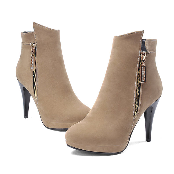 Thin Heels Ankle Boots