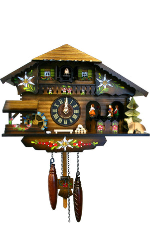 Large Battery-Operated Chalet Cuckoo Clock