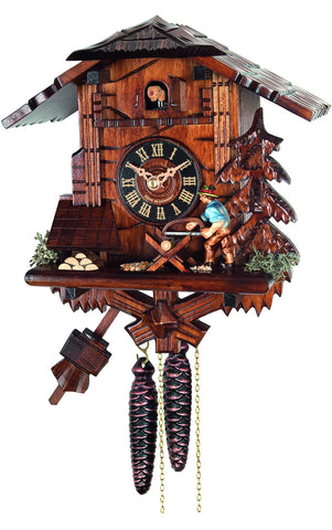 Large 1-Day Mechanical Chalet with Sawyer Cuckoo Clock