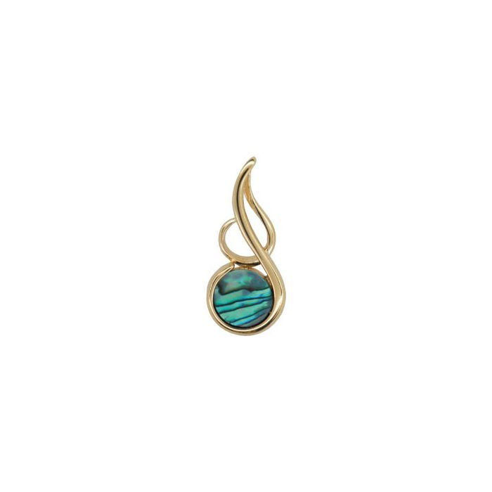 Pendant Paua Shell Costume – Musical Note