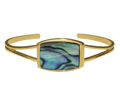 Bracelet Paua Shell Costume – Rectangle
