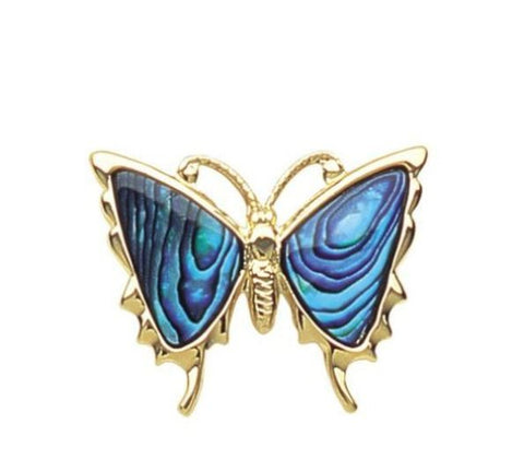 Brooch Paua Shell Costume – Butterfly
