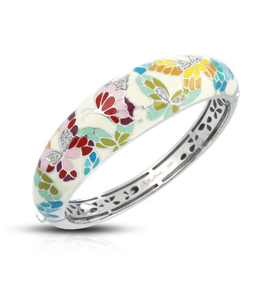BUTTERFLY KISSES IVORY BANGLE