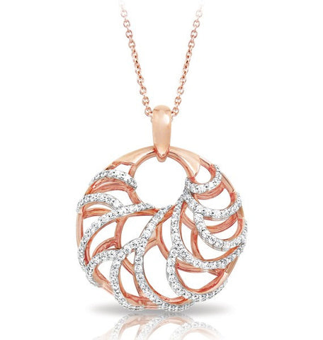 MONACO ROSE GOLD PENDANT