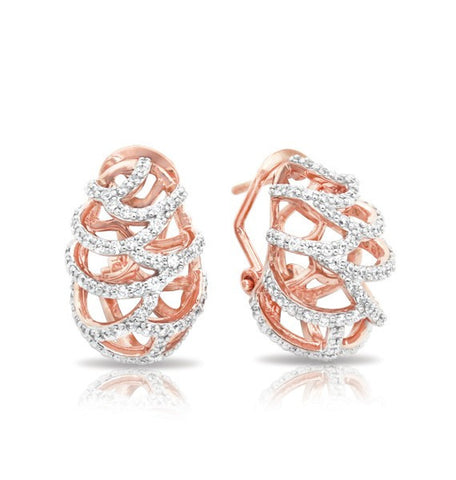 MONACO ROSE GOLD EARRINGS